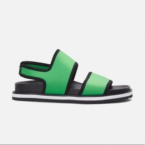 Gorman House Party Sandal Green NEW IN BOX